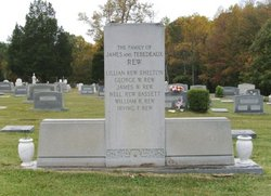 Capt James Wellington Rew, Sr