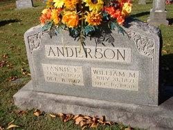 Fannie Florence <i>Peek</i> Anderson
