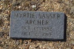 Myrtie <i>Sasser</i> Archer