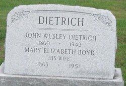 Mary Elizabeth <i>Boyd</i> Dietrich