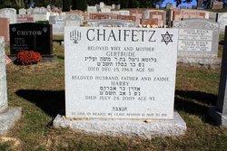 Gertrude <i>Katz</i> Chaifetz