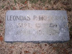Leonidas Pointer Frederick