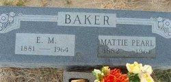 Mattie Pearl <i>Hamilton</i> Baker