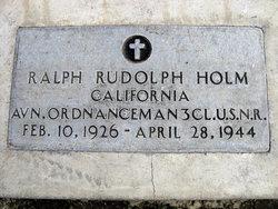 Ralph Rudolph Holm