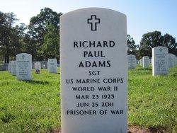 Sgt Richard Paul Adams