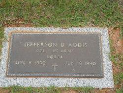 Jefferson D Addis