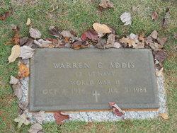 Warren C Addis