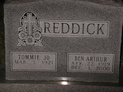 Ben Arthur Reddick