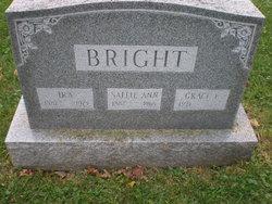 Sallie Ann <i>Sacks</i> Bright