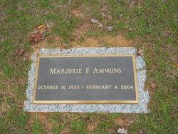 Marjorie F Ammons