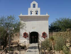 San Xavier del Bac Chapel and Cemetery
