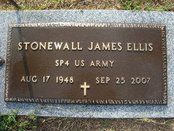 Stonewall James Stoney Ellis