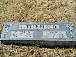 Walter W Littlefield