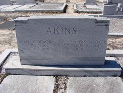 Frances Emaline <i>DeLoach</i> Akins