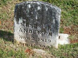 Moses Gwynn Anderson