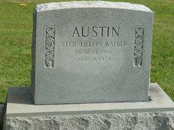 Effie Lillian <i>Walker</i> Austin