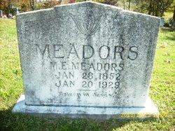 Milton Eve Meadors