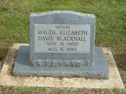Maude Elizabeth <i>Davis</i> Blacknall