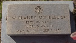 W. Blaney McNeese, Sr