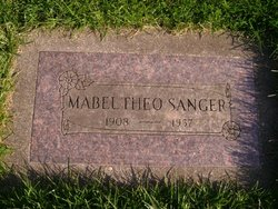 Mabel Theo <i>Pettis</i> Sanger
