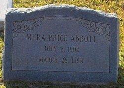 Myra Elizabeth <i>Price</i> Abbott