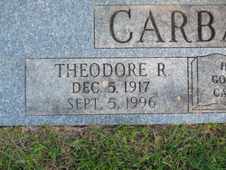 Theodore R. Ted Carbaugh