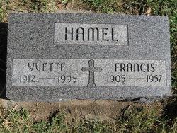 Yvette H <i>Favreau</i> Hamel