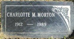 Charlotte Marguerite Charlie <i>Bennyhoff</i> Morton
