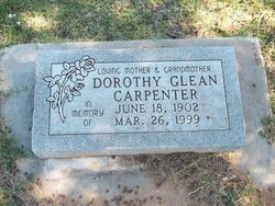 Dorothy Glean <i>Glean</i> Carpenter