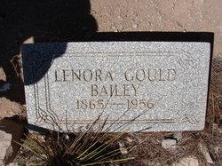 Lenora <i>Gould</i> Bailey