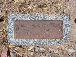 Ruth Naomi <i>Koons</i> Carson