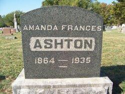 Amanda Francis <i>Davis</i> Ashton