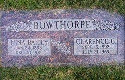 Clarence George Bowthorpe