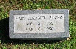 Mary Elizabeth Benton