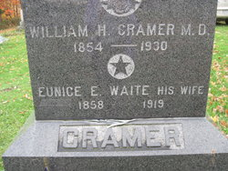Eunice E <i>Waite</i> Cramer