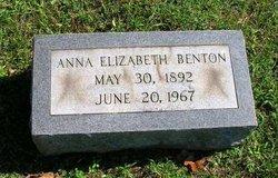 Anna Elizabeth Benton