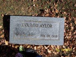 Eva Lou <i>Smith</i> Aylor