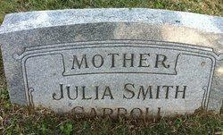 Julia <i>Smith</i> Carroll