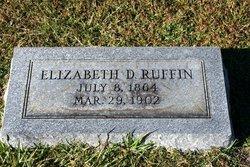 Elizabeth Della <i>Price</i> Ruffin