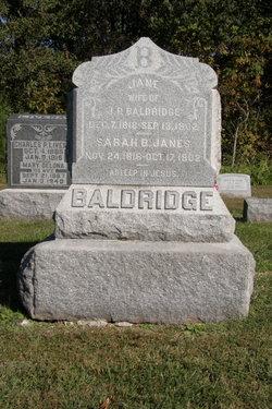 Sarah B. <i>Janes</i> Baldridge