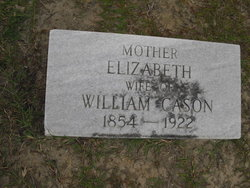 Elizabeth <i>Odom</i> Cason