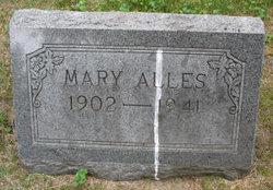 Mary <i>Balzer</i> Alles