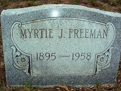 Myrtie Josephine <i>McBryde</i> Freeman