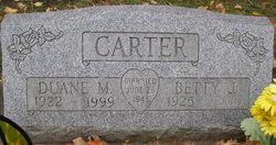 Betty J. <i>Filley</i> Carter