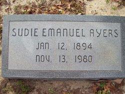 Sudie <i>Emanuel</i> Ayers