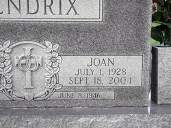 Joan Hendrix