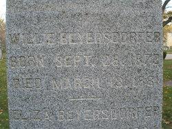 William Willie Beyersdorfer