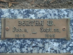 Bertha <i>Wonnack</i> Miller Richter
