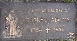Cheryl <i>Comer</i> Adams