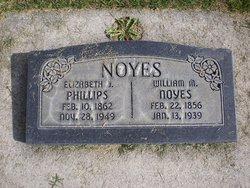 Elizabeth J <i>Phillips</i> Noyes